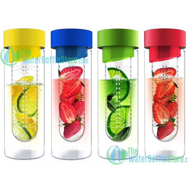 Fruit infuser bottles water bottle with infuser infused water bottle - Asobu Flavour It Glass Fruit Infuser Water Bottle Citrus