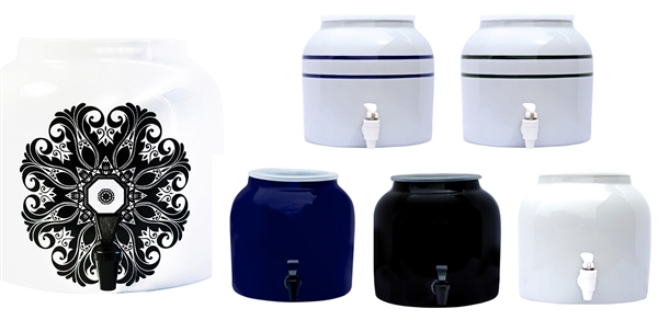 New Wave Enviro Porcelain Water Dispenser Crock At