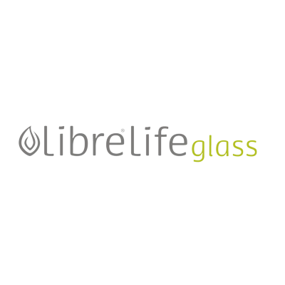 Libre reusable glass water bottles