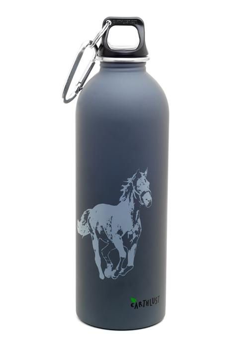 Earthlust 1 Liter Horse Designer Stainless Steel Water