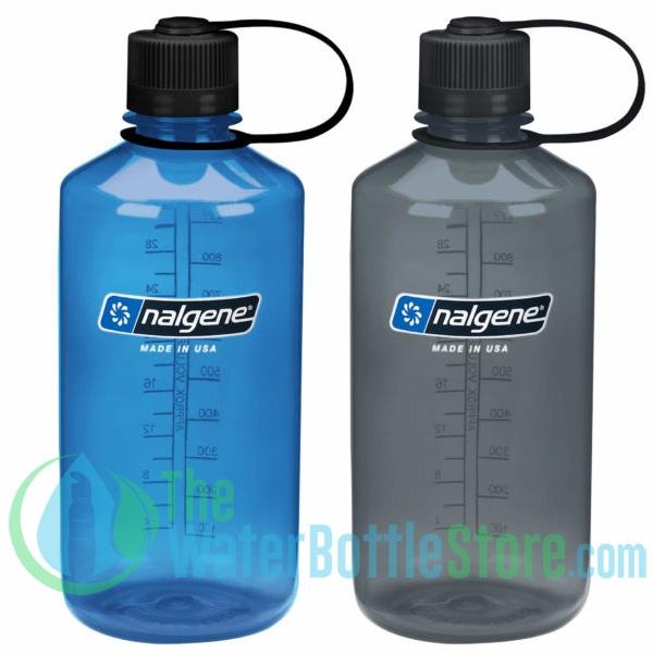Nalgene Narrow Mouth Water Bottle 32oz Gray