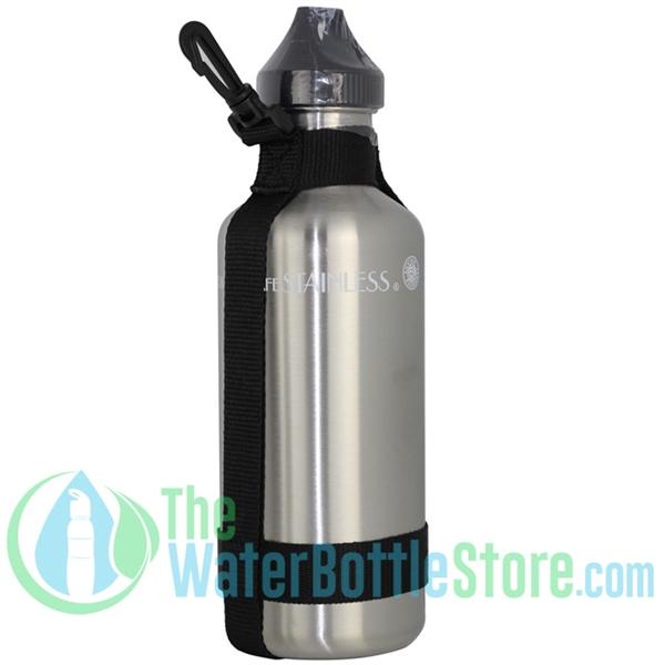 New Wave Enviro Stainless Steel 40oz Metal Water Bottle