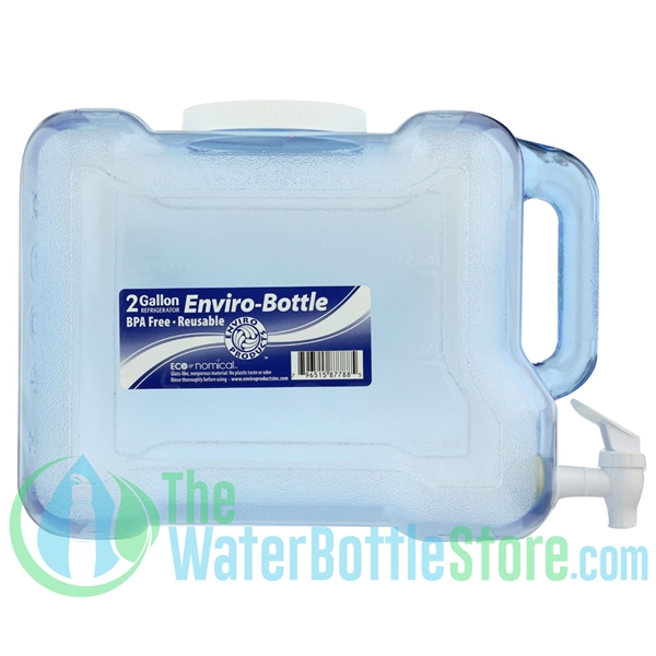 New Wave Enviro 2 Gallon BPA-Free Refrigerator Water Bottle ...