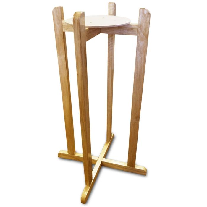 New Wave Enviro Water Dispenser Crock Wood Floor Stand